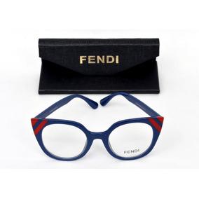Armação De Óculos De Grau Feminina Gatinho Importada + Case - Óculos ... b97891618a