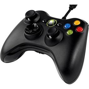 Controle Com Fio Xbox 360 Pc Slim Joystick Original Feir