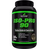 Isopro 90 Proteina Aislada De Suero De Leche O% Lactosa