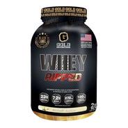Whey Ripped. Proteína Con Quemador. 2 Lbs. Gold Nutrition. O