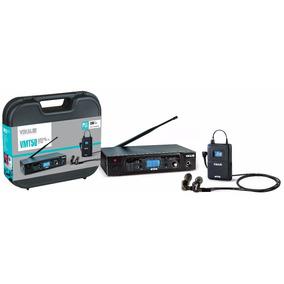 Sistema Monitor S/fio Retorno Vokal Vmt50 + Fone E50 In Ear