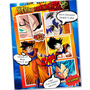 Tarjeta Invitación Infantil Comic Diseños Personalizados