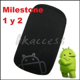 Funda Neoprene Logo Android Para Motorola Milestone 1 Y 2