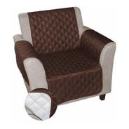 Protector Sofa Forro 1 Puesto Doble Faz Limpio Pelos Grueso