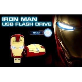 Pen Drive Homem De Ferro 8 Gb Iron Man