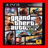 Gta 5 Grand Theft Auto V Ps3 Digital Oferta Caja Vecina