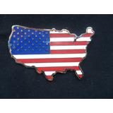 Escudo Bandera Usa Auto Moto Insignia Hot Rod Ford Chevrolet