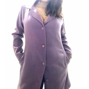 Abrigo De Mujer Paño Y Lana Modelo 044 Envio Gratis Dhl!!!