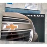 Manual Proprietario Novo Prisma 14 15 16 Chevrolet Em Branco