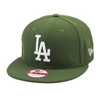 Boné New Era Snapback Los Angeles Dodgers Verde - Mlb