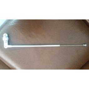 Antena De Moto Corta Pipa P/guidão Em Aluminio
