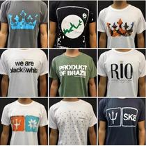 10 Camisas De Marca Original Osklen Calvin Klein No Atacado