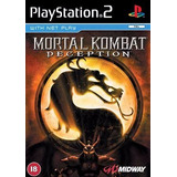 Mortal Combat Deception Juego Playstation 2 Ps2