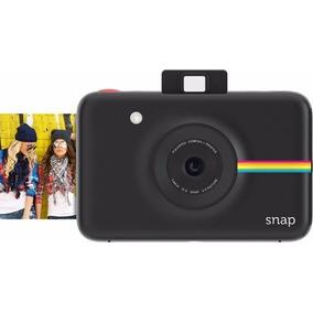 Câmera Polaroid Snap Preto Fotos Na Hora. Fotos Impressas.