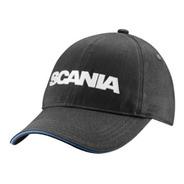 Boné Scania Cinza Escuro - Modelo Básico