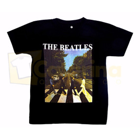 Camiseta The Beatles Em Algodão Frete Grátis