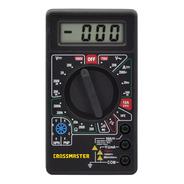 Multímetro Digital-tester 200-1000 Volts-crossmaster 9936583