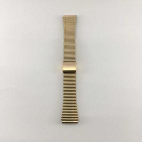 Extensible 18mm Dorado Oro Para Relojes Antiguo Vintage Gold