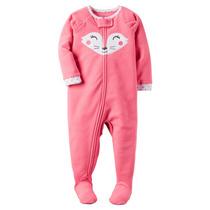 Pijama Entero Polar Antideslizante Nena 5t Carters
