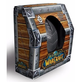 Mouse Optico Usb Steelseries World Of Warcraft Gaming