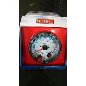 Contagiro Rpm Type R Tacômetro Relógio Com Shift Light 85mm
