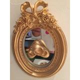Quadro Sapatinho Dourado De Bebê ( Moldura Com Laço)