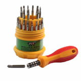 Kit Com 31 Chaves De Precisão - Fenda Alen Torx Philips Y