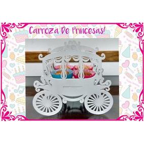 Carroza Candy Bar Fibrofacil Princesas