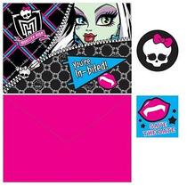 Invitaciones Monster High (8 Piezas) [de Productos De Offic