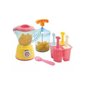 Máquina Fazer Sorvete Picolé Kids Criança Chef Multikids
