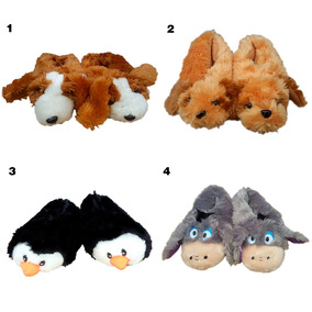 Pantuflas De Animales P032 Por Mayor Y Menor Capital