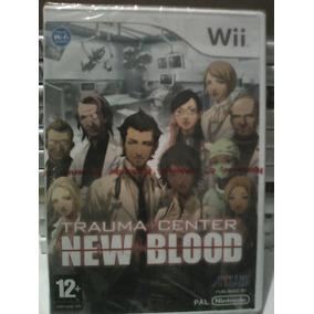 Trauma Center New Blood - Wii - Eur Pal Lacrado Novo