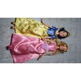 Bonecas Princesas Branca De Neve E Bela Dormecida