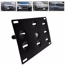 Porta Placa Auto Euro Tiron Tow Hook Jalon Mini Vw Bmw Audi