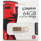Pendrive Kingston 64gb Se9 G2 Usb 3.1 / 3.0 / 2.0 Original!