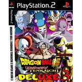 Dragon Ball Z Budokai Tenkaichi 3 Mods Super Deluxe Lat Ps2