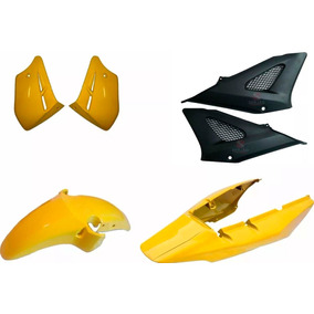 Kit Carenagem Cbx 250 Twister Amarelo 2007/2008