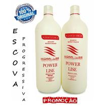 Escova Progressiva Hidralise Bálsamo Shampoo Anti Resíduo 1l