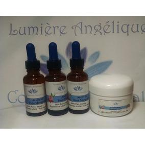 Aceite Rosa Mosqueta 3 Fcos + Crema Gratis 30ml 100% Estrias