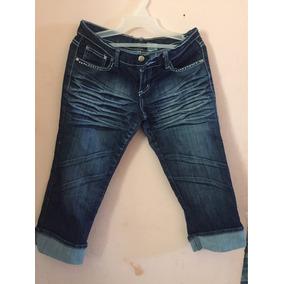 Pantalón Capri De Blue Jean Para Dama
