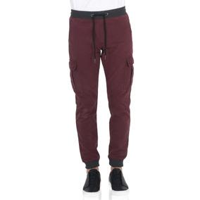 Pantalón Estilo Joggers De Negro Vestimenta Vw172-2110-178