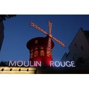 Cuadro 20-moulin-rouge-paris-7  32x20  C/marco De Madera