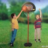 Aro Basketball Pedestal Infantil Ajustable 2,1m / Diverti