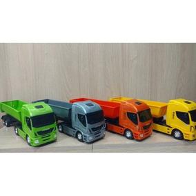 Miniatura Caminhao Iveco Hiway Basculante Usual Plastic 271