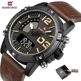 Reloj Hombre Analógico Digital Naviforce 9095