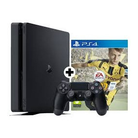 Ps4 Sony Play Station 4 1 Tera + Fifa 2017+ 2 Joystick+gtia