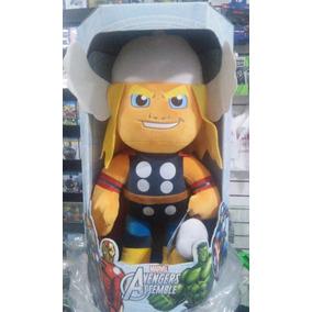2 Bonecos Pelucia Thor M Home De Ferro M Buba Toys