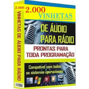 2000 Mil Vinhetas Para Radio Envio Por E-mail