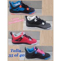 Zapatos Deportivos Retro Jordan Carrito 4 Talla 35 Al 39