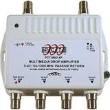 4 Puertos Cable Tv/hdtv/digital Amplificador Internet